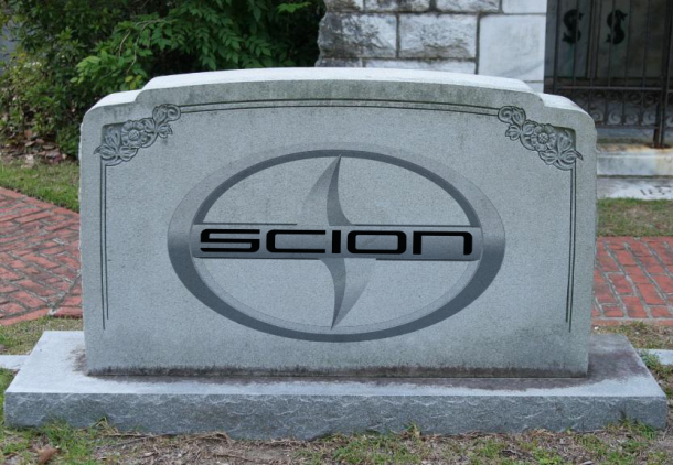 Scion is Dead