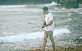 Rama Michael di Pantai