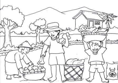 Mewarnai Gambar Anak Anak Lomba Mewarnai Hut Petro Kimia Gresik