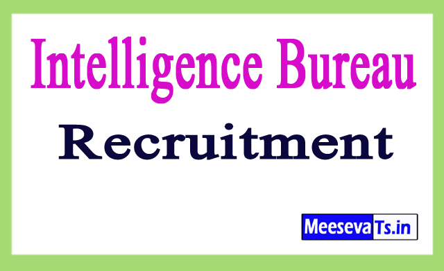 Intelligence Bureau IB recruitment