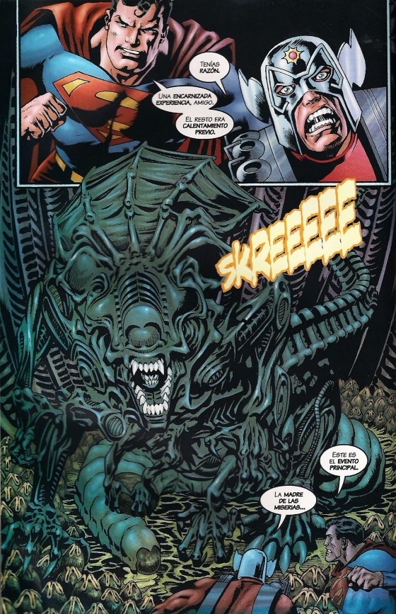 Superman vs. Aliens II: God of War