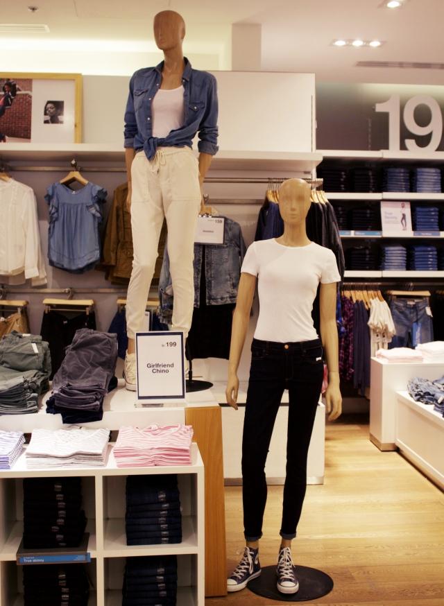 Gap Peru colección otoño 2017 denim jeans pantalón jean chinos