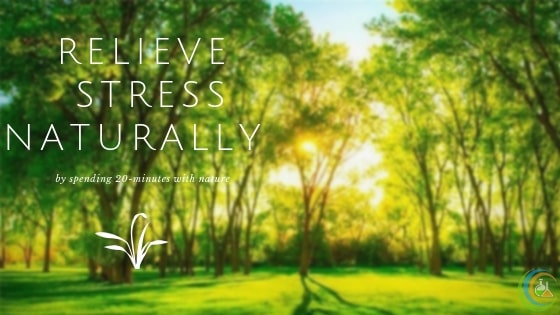 Relieve stress naturally