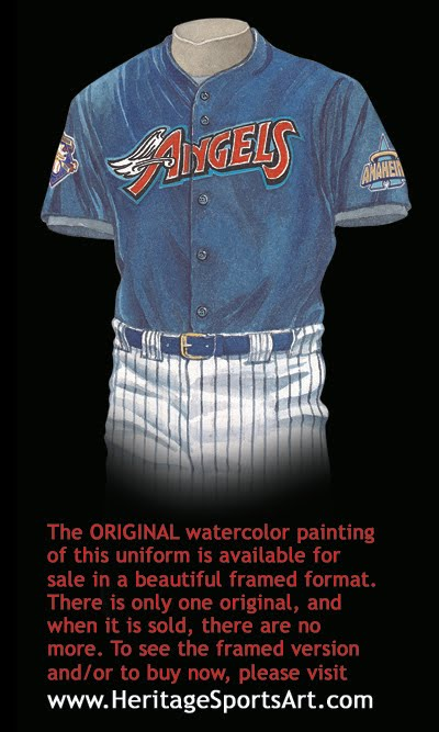 los angeles d0d1d 084e7 Los Angeles Angels of Anaheim Uniform and Team History ...