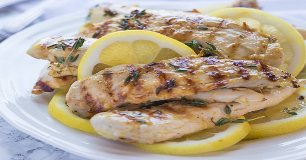 Grilled Lemon Thyme Chicken Recipe
