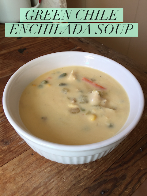 Recipe for Green Chile Chicken Soup