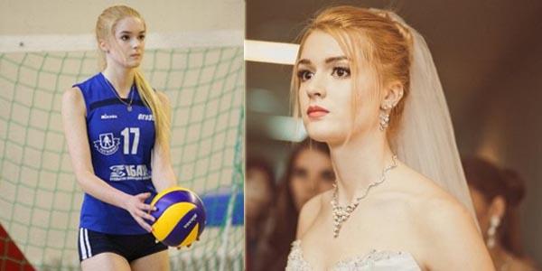 alisa manyonok, atlet voli cantik asal rusia