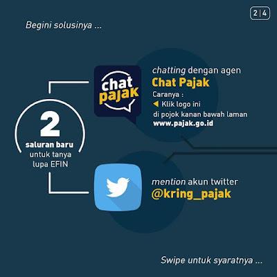 Cara Mendapatkan  Nomor EFIN Pribadi Secara Online