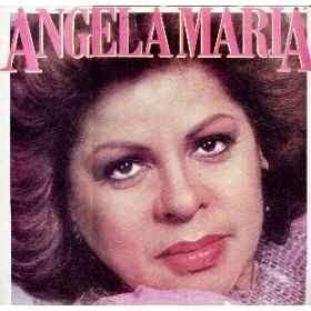 Capa do disco Ângela Maria lançado em 1987 pela cantora Ângela Maria