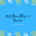 2018 Year Blog Review