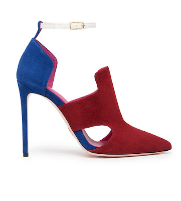 oscar tiye naila color block high heeled sandals