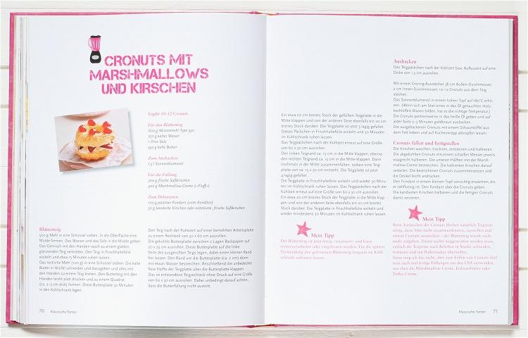 Rezension/Buchvorstellung Kuchen & Süsses von Andrea Schirmaier-Huber 4