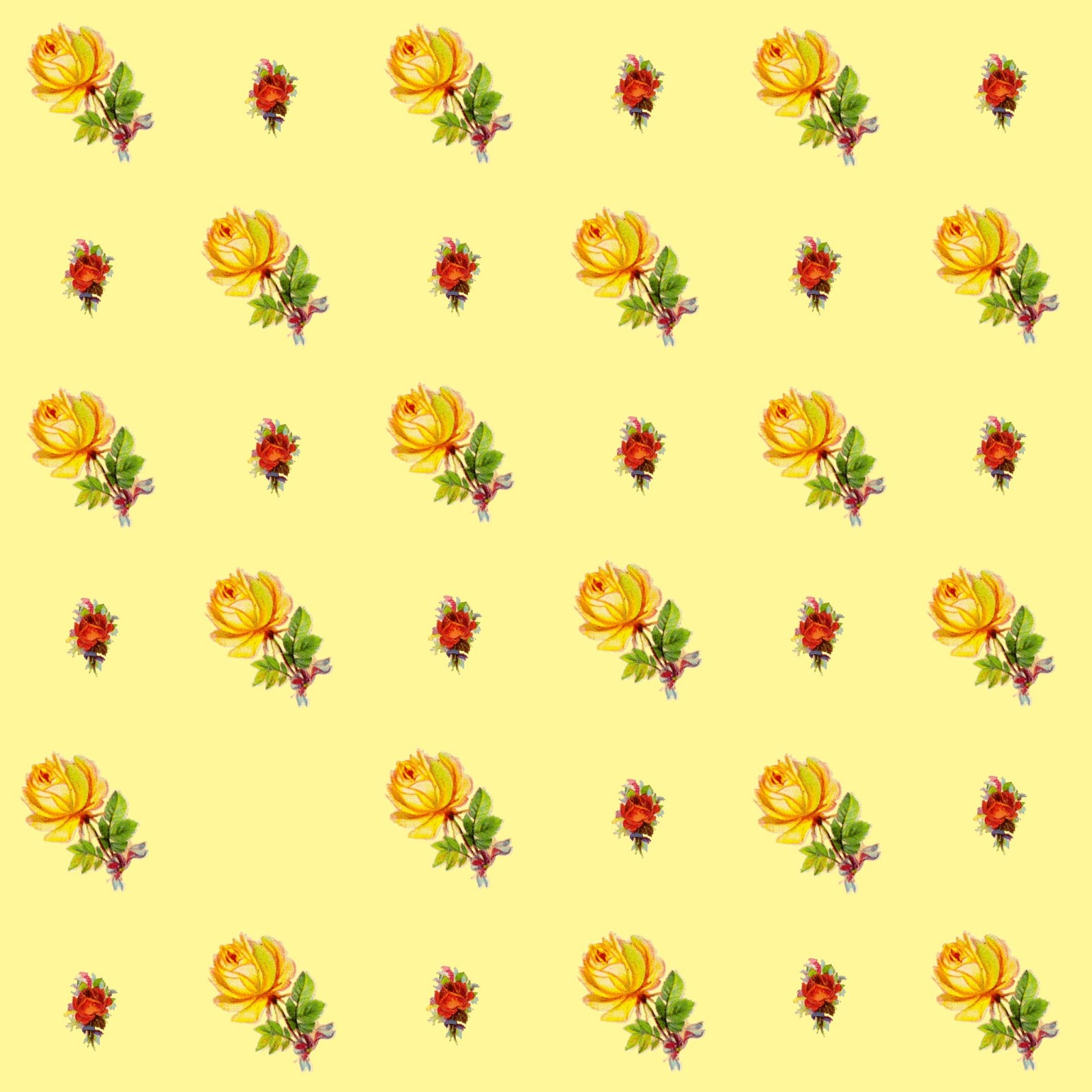 Wallpaper Of Yellow Rose: The Artzee Blog: Yellow And Pink Roses Printable Download