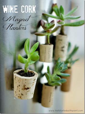 http://www.itallstartedwithpaint.com/wine-cork-magnet-planters/