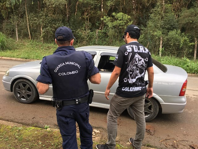 Polícia Cívil e Guarda Municipal realizam operação contra rachas em Colombo