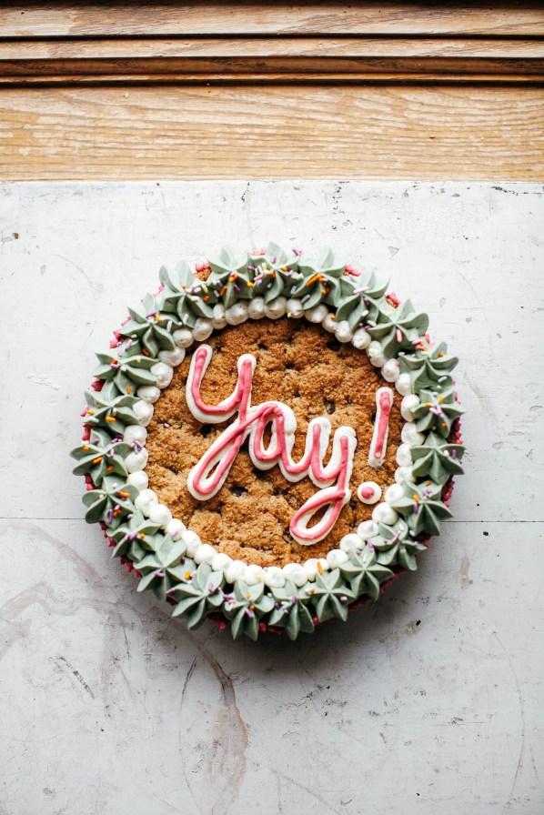 Passover Cookie Cake | Land of Honey