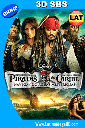 Piratas del Caribe: Navegando Aguas Misteriosas (2011) Latino HD 3D SBS 1080P ()