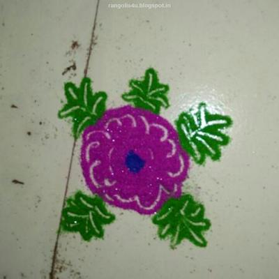 Simple Rangolis