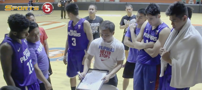 Gilas Pilipinas 5.0 Coach Josh Reyes Prepares For Battle (VIDEO)