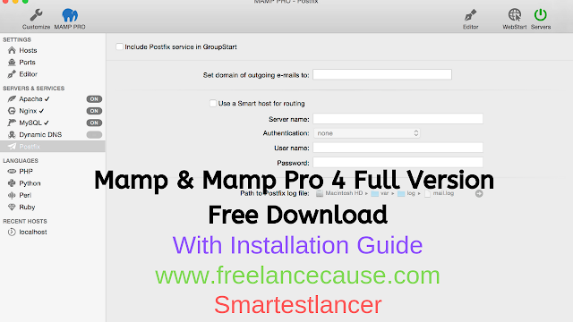 Mamp And Mamp Pro 4 0 1 3 Full Version Free Download with