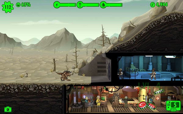 Fallout Shelter now available for Android