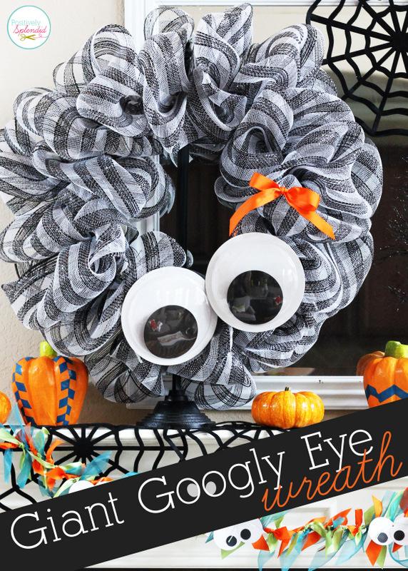 Giant Googly Eye Wreath