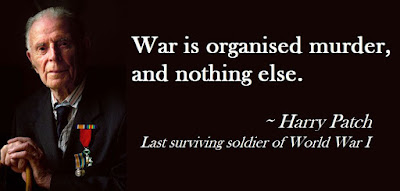 The last of the noblest generation : War is organised murder, nothing else