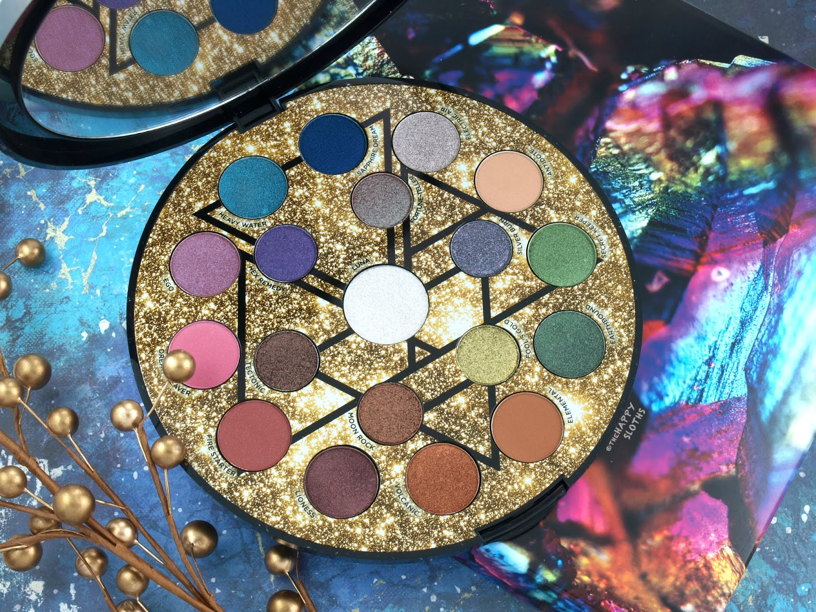 Urban Decay | Holiday 2018 Elements Eyeshadow Palette: Review and Swatches