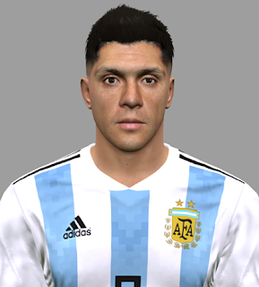 PES 2017 Facepack Argentina NT World Cup 2018 by DanielValencia_EA