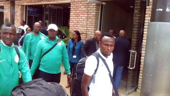 Oliseh, Super Eagles arrive Rwanda ahead of CHAN2016   Nigeria's News