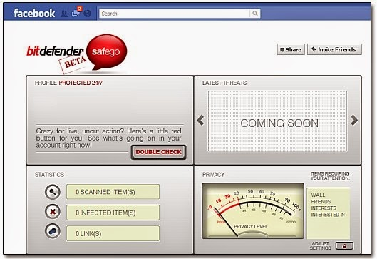 Facebook, Bitdefender , Facebook Bitdefender, anti-virus, antivirus, social media, social network, software, anti-virus software,