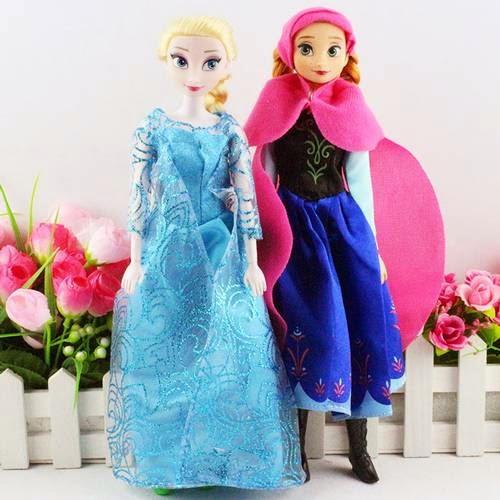 Gambar boneka anna dan elsa frozen untuk anak