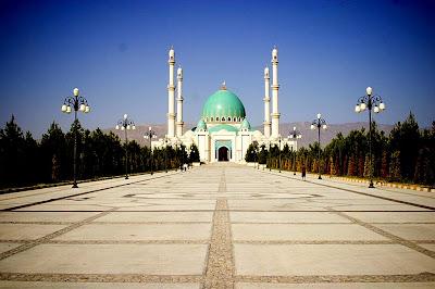 masjid di turkmenistan