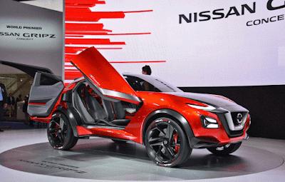 Konsep Nissan Gripz terinspirasi reli Datsun 240Z Safari yang kemungkinan bakal menjadi mobil Nissan crossover pertama.