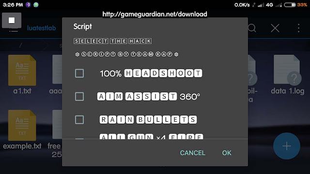 Download Script Free Fire Terbaru