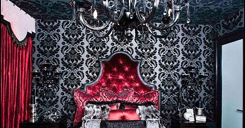 Decorating Theme Bedrooms Maries Manor Girly Gothic