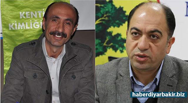 DİYARBAKIR-Diyarbakır'da DBP'li Kayapınar Belediye Başkanı Mehmet Ali Aydın ile Yenişehir Belediye Başkanı Selim Kurbanoğlu gözaltına alındı.