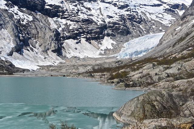 Nigardsbreen : Le glacier de Nigard, langue glacière du Jodaltersbreen