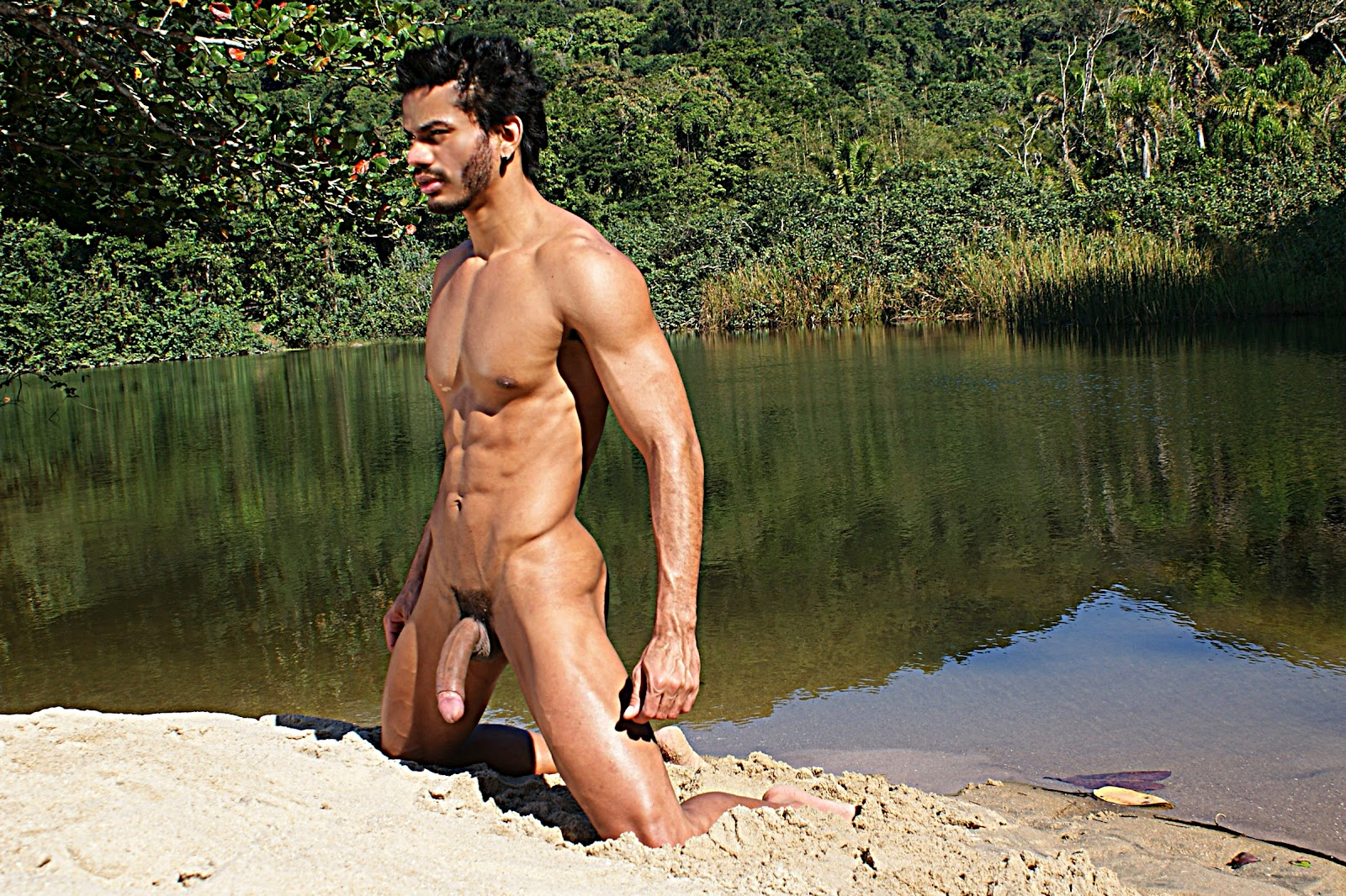 Blonde nude hispanic males and curvy