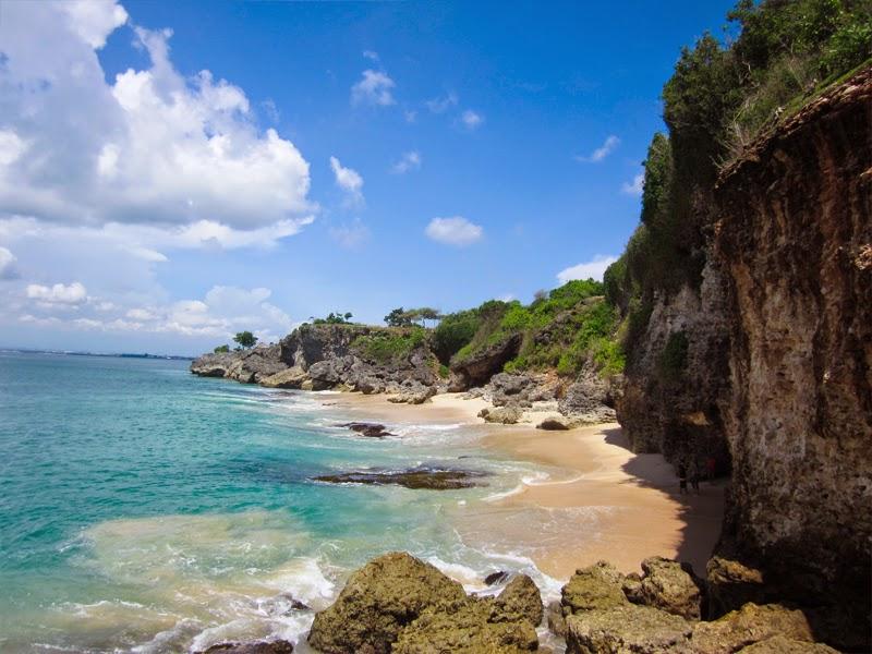 Tempat Wisata Pantai Tegal Wangi Jimbaran