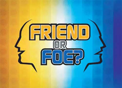 Friend or Foe game show logo