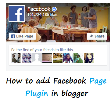 How To Add New Facebook Page Plugin In blogger | 101helper