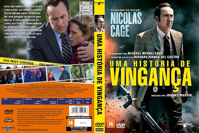 Capa DVD Uma História de Vingança [Exclusiva]