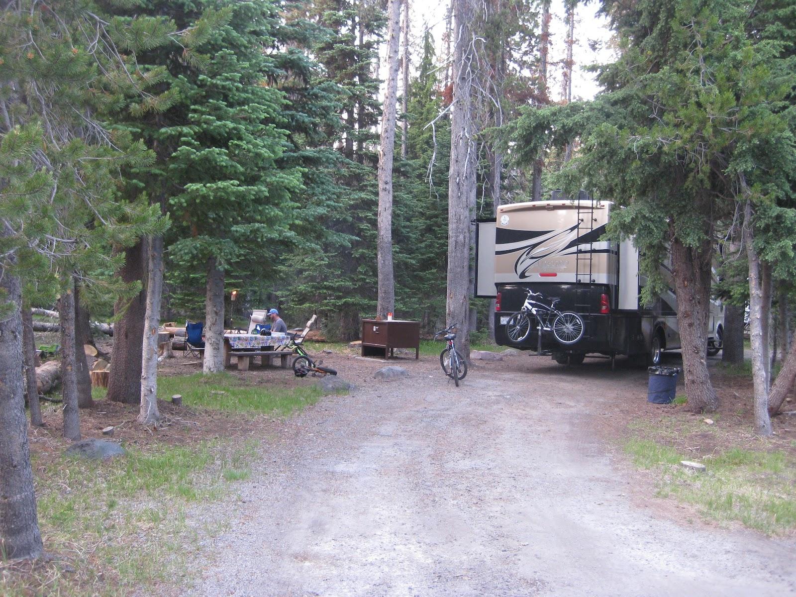 Campgroundcrazy Mazama Campground Crater Lake National