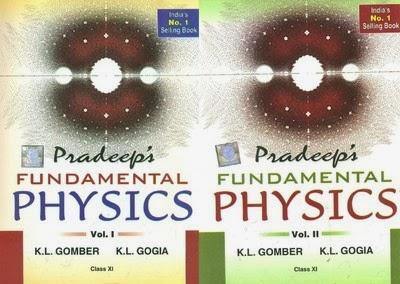 Pradeep Books: Pradeep's Fundamental Physics (Class-XI) (Set