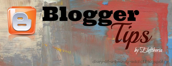 Blogger Tips: Horizontal menu with images