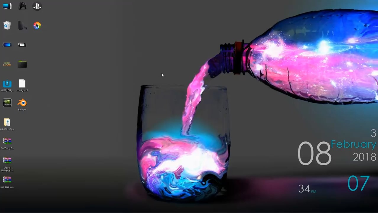 wallpaper engine Liquid Universe free download - wallpaper ...