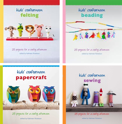 The Red Thread Kids Crafternoon Books Giveaway