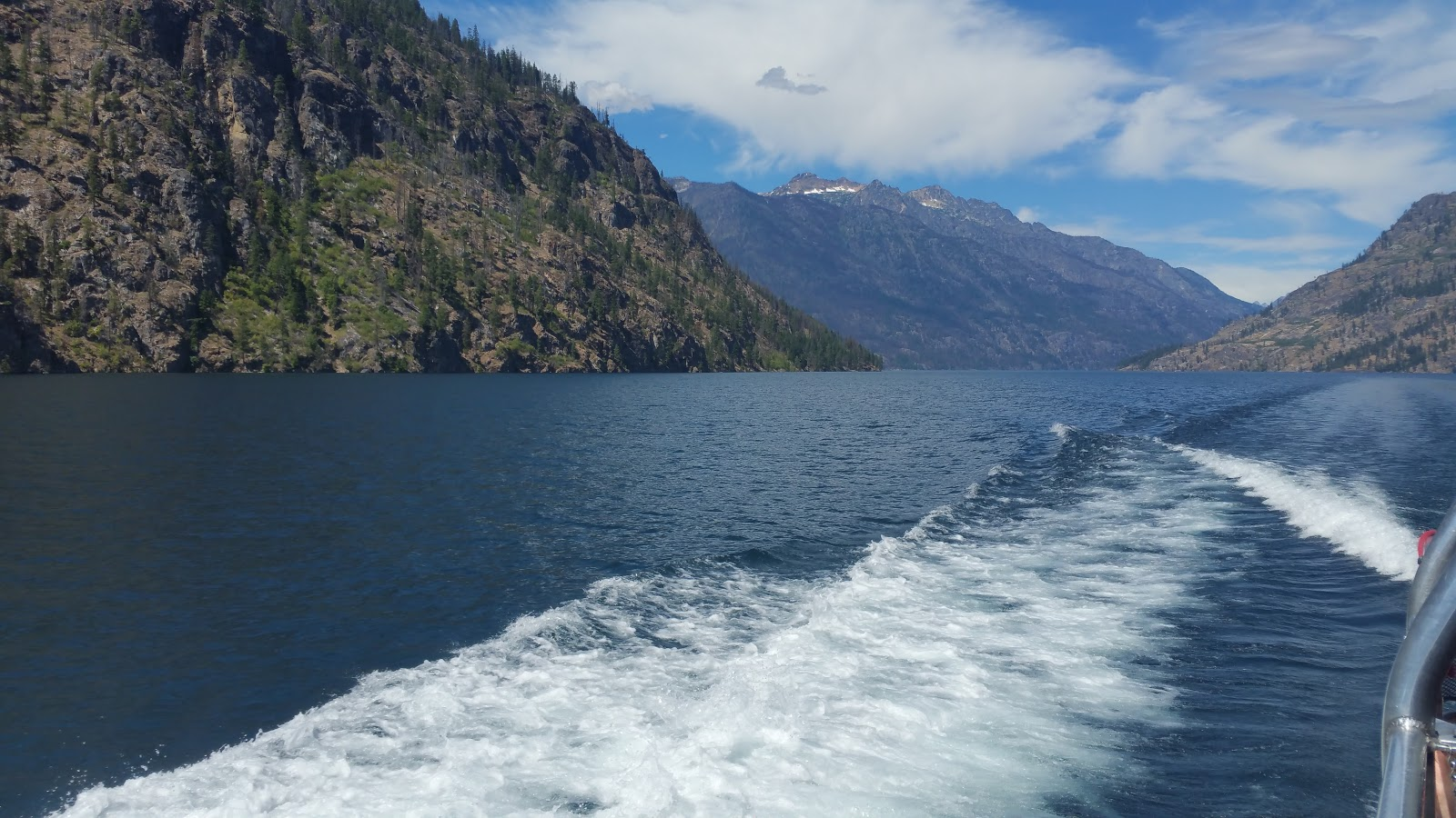 Image from a Ferry boat on Lake chelan