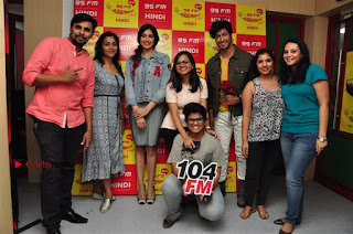 Vidyut Jamwal Adah Sharma Commando 2 Movie Team at Radio Mirchi 95  0049.jpg
